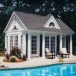 Windsor surfside summerwood pool house - Summerwood Products