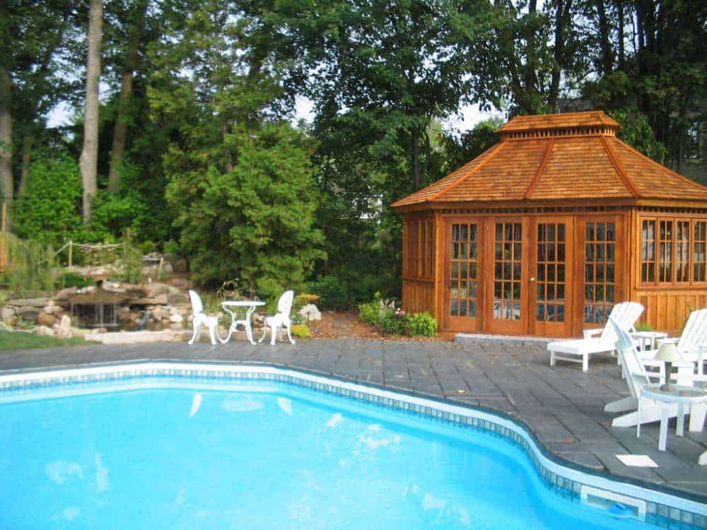 Tips And Ideas: Pool Cabanas - Summerwood Products