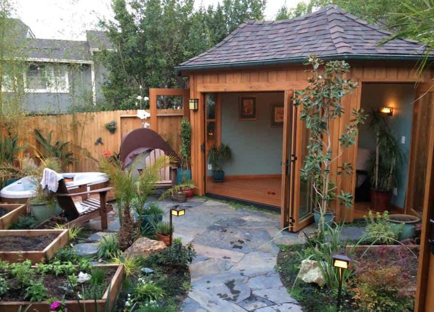 Adorable 5 Corner Shed - Summerwood Products