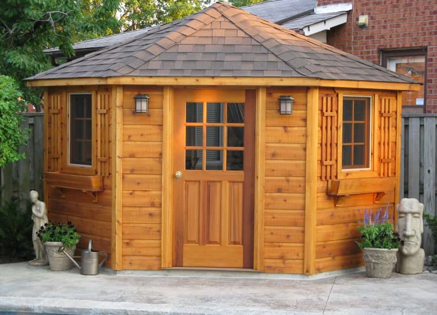 Western Red Cedar Pool House