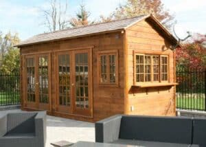 Backyard Bar Harbor Shed - Summerwood Products